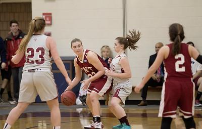 1/28/15: Girls' Varsity Basketball v Loomis