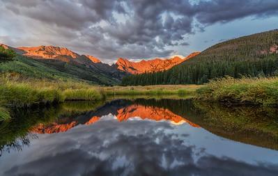 Piney River Alpen Glow, Colorado