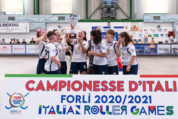 Finale 1°/2° posto: Hockey Valdagno vs Roller Matera