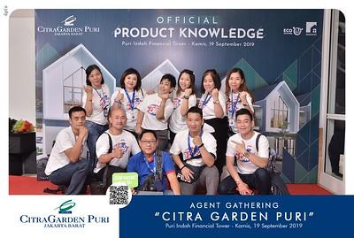 "190919 | Agent Gathering ""Citra Garden Puri''"