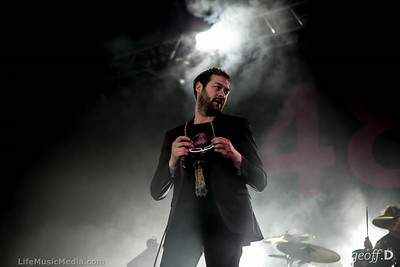 Kasabian + The Delta Riggs @ Festival Hall, Melbourne - August 9, 2014