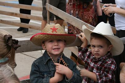 Cody as Cowboy at School - October 2012