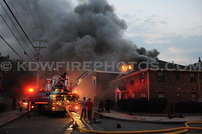 Medford, MA - 4th Alarm - 112 Washington St - 7/7/10