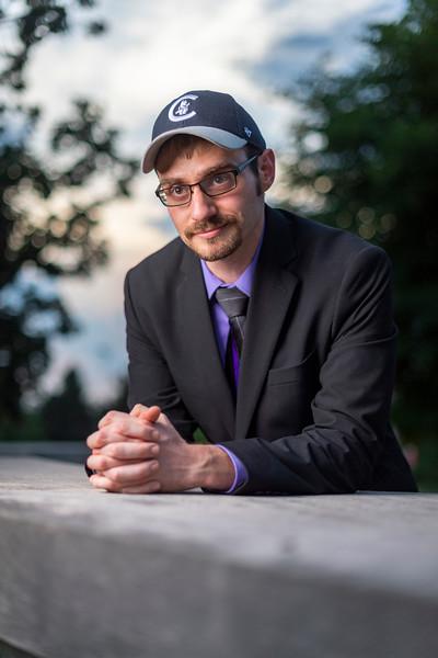 Photoshoot of Matthew Meyer on July 10, 2019 on IU Bloomington's Campus (Alex Kumar/Emily Sterneman Photo)