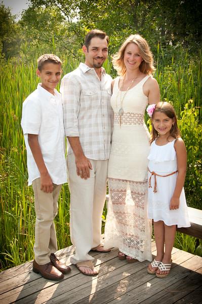 Grace, Rob, Anthony and Ava