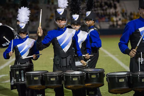 2015-10-02 MHS Band Homecoming Game