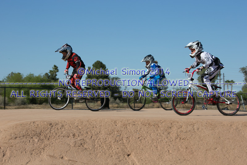 BMX Chandler 6 April 2014 If your racer is missing let me know their number & colors. I have 600+ more images.