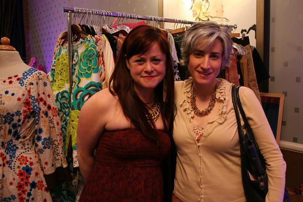 Tina Witherspoon, Glamspoon and Julie Kettman, YWCA
