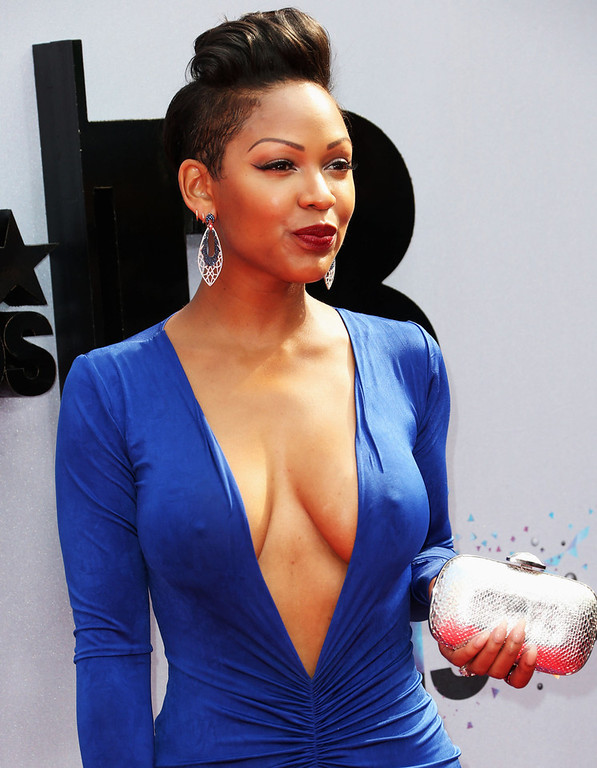 . Actress Meagan Good attends the 2013 BET Awards at Nokia Theatre L.A. Live on June 30, 2013 in Los Angeles, California.  (Photo by Frederick M. Brown/Getty Images for BET)
