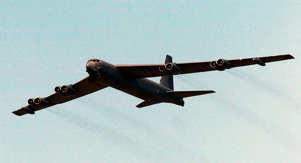April 11, 1983, USAF Boeing B-52G (58-0161) Square Top Mountain, UT
