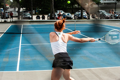 2021 HN Girls Tennis vs Padua
