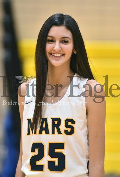 Mars Girls Basketball #25 Kaitlyn Pelaia