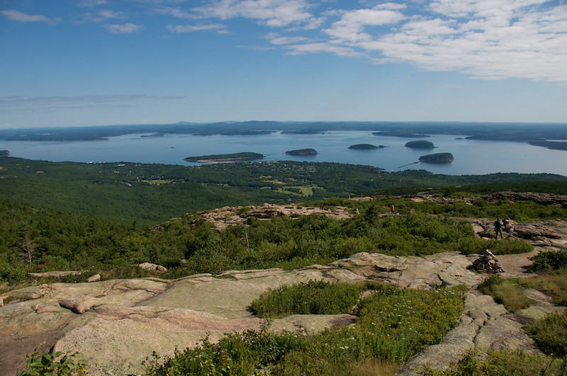 Porcupine Islands, from Cadillac Mt.