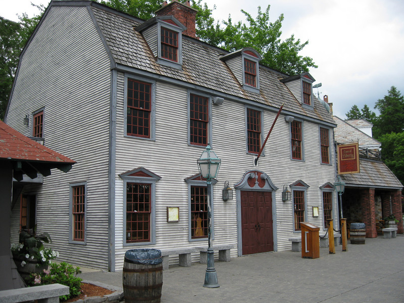 My favorite attraction at Canobie Lake Park, the Sons of Liberty Tavern.