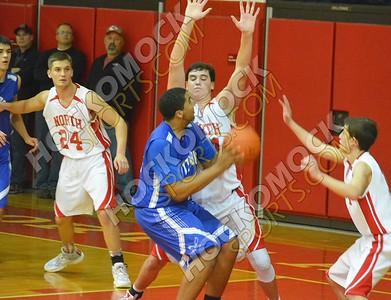 North Attleboro - Attleboro Basketball 1-8-16
