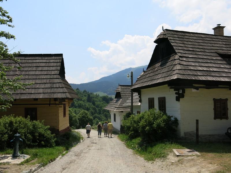 Vlkolinec main street