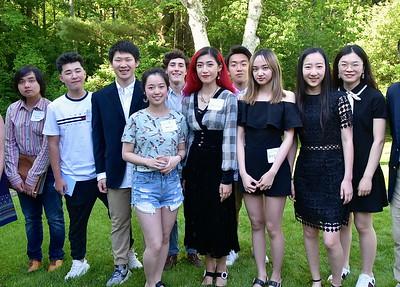 BBA International Student Graduation Reception photos by Gary Baker