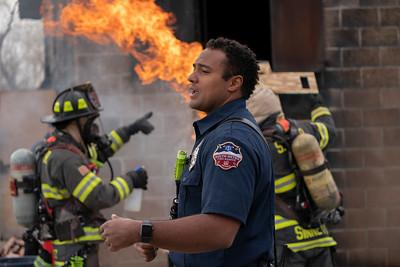SMFR Staff Academy Live Fire Training