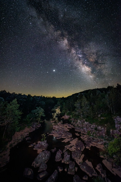 Marble Creek under the Stars