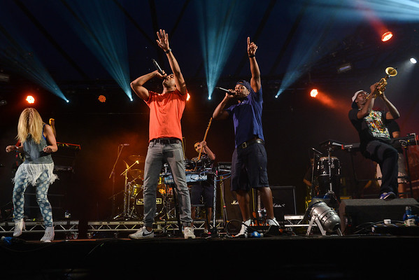 Rudimental perform at Latitude 2013 - 21/07/13