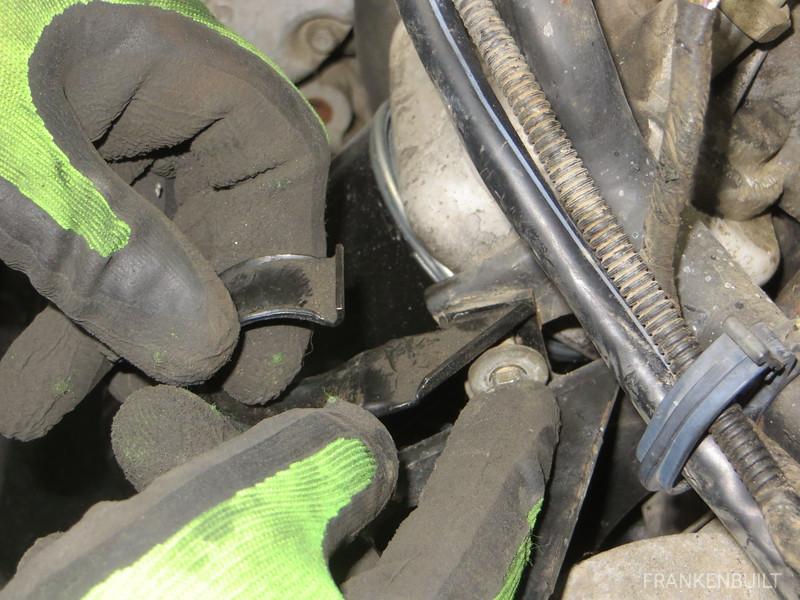 Installing the bracket