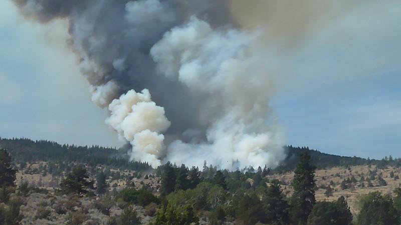Cheney Creek Fire September 13 2012