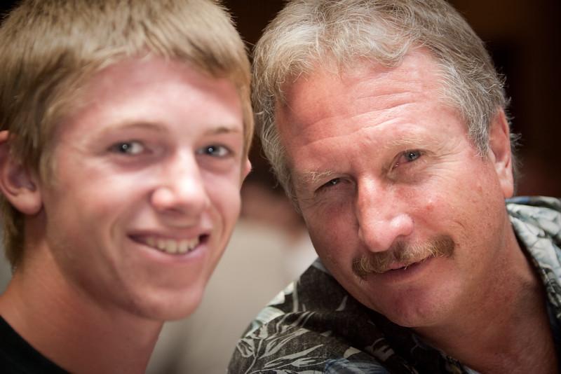 Greg (narlee) and his son