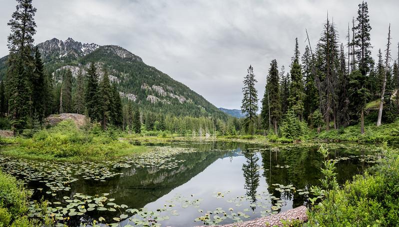 McGregor Mountain Howard Lake (formerly Coon Lake)