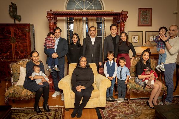 Bhaskaren Family