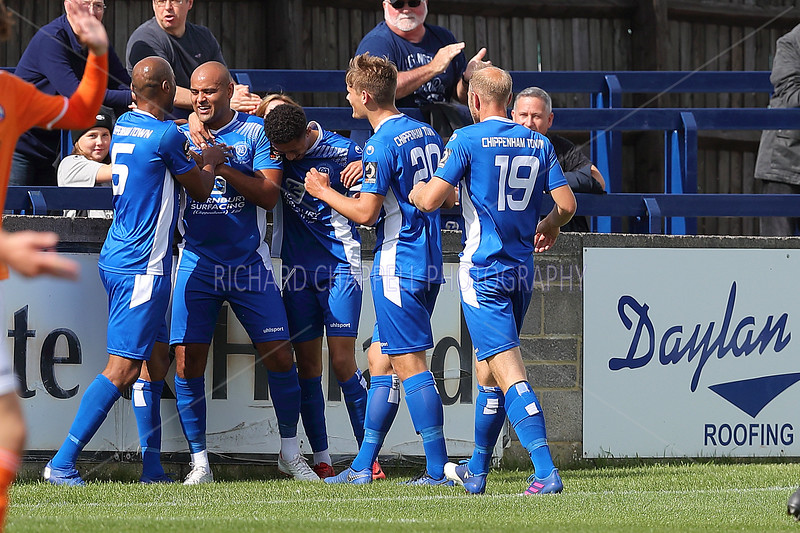 CHIPPENHAM TOWN V BRAINTREE TOWN MATCH PICTURES 31st AUGUST 2019
