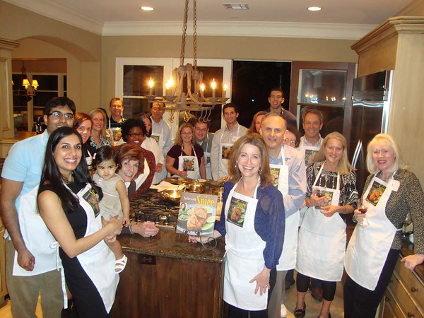 Houston Indian Cooking Demonstration and Dinner Party - 10.28.10