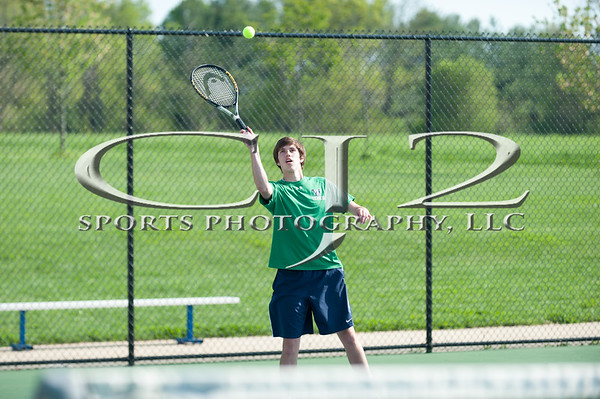 5-4-2015 Sherando at Woodgrove Boys Tennis