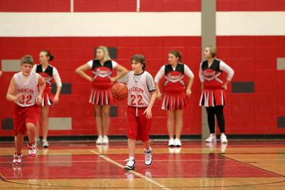 Middle School Boys Basketball 8B - 2008-2009 - 12/8/2008 Newaygo