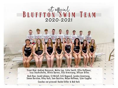 1-18-21 Bluffton High School Swim Team