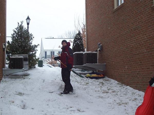 First snow 2009