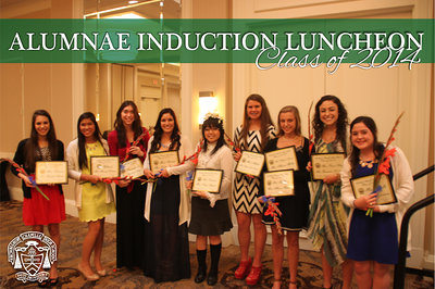 Alumnae Induction Luncheon - Class of 2014