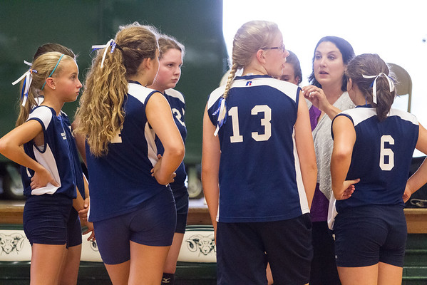 2015-09-09 Hillsdale Academy Junior High Volleyball vs. North Adams