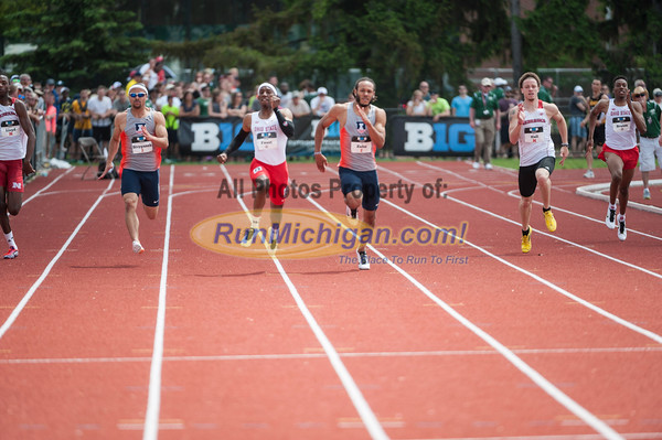 BiG10 200M Men Final - 2015 Big Ten Outdoor