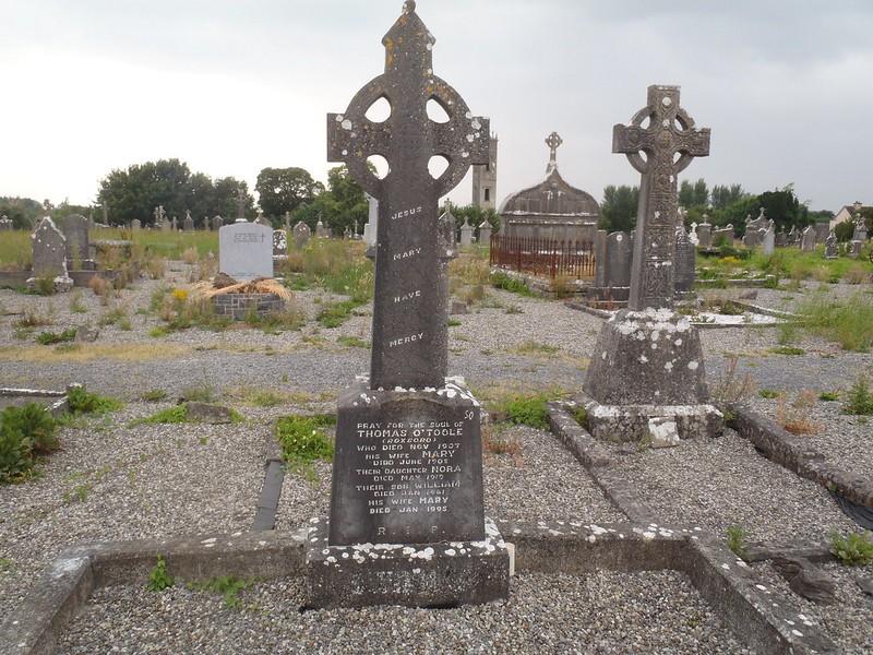 Ballinrobe Cemetery plot 50 Toole family.jpg