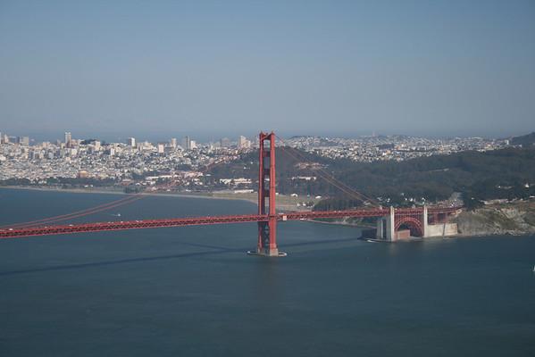 Marin Headlands and Golden Gate Bridge