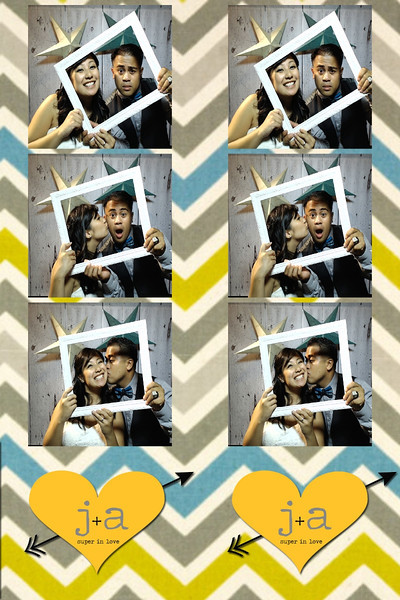 Jackie and Allan's Photobooth
