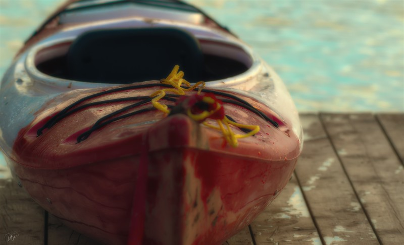 Used Kayak 1