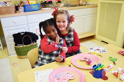 Valentine's Day in the Lower School
