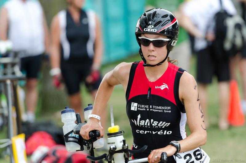 Miranda Tomenson: 2012 women's long course winner