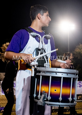 Broughton varsity football vs Cardinal Gibbons. Band and Dance Team Senior Night. October 25, 2019. MRC_3849