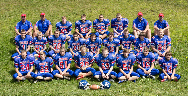Kane Wolves Middle School Football 2015
