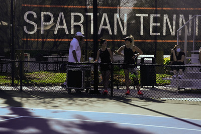 2021 Tennis vs. HCC (Scrimmage)