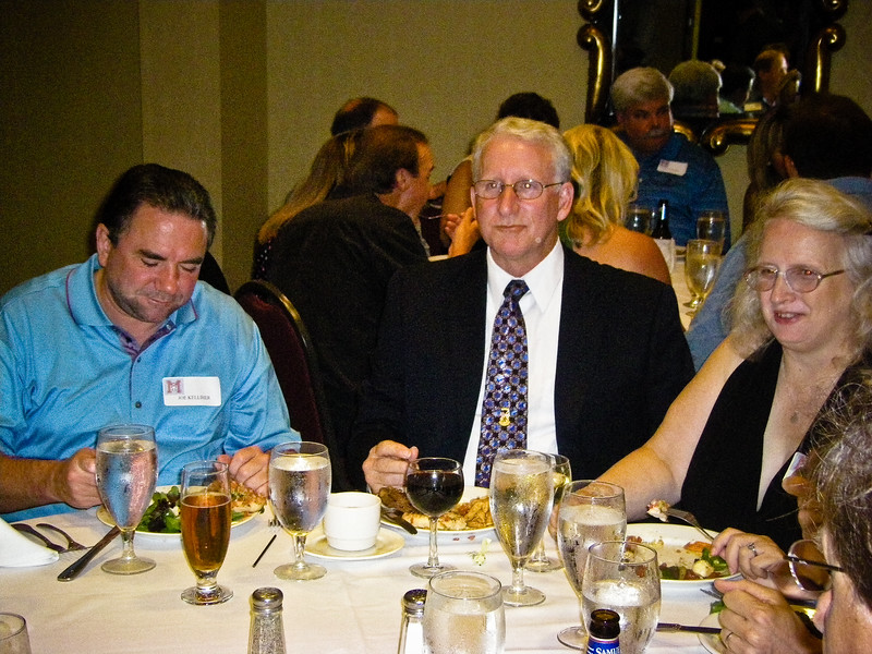 Joe Kelliher, Tom Goeller, wife Goeller