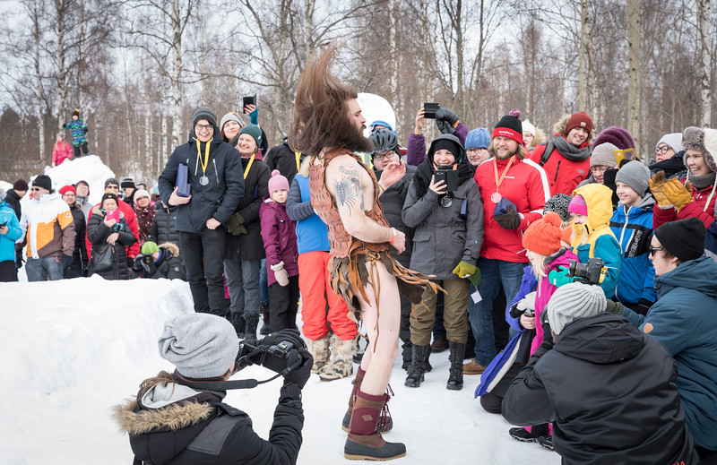 Nordic Thunder rocking at the Baltic Snow Call