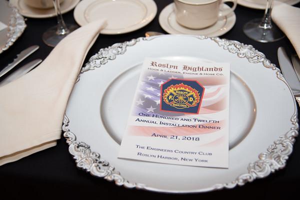 Roslyn Highlands 2018 Installation Dinner
